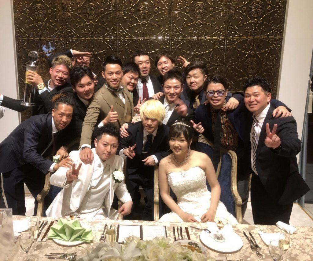 友人の結婚式に行ってきました! | 渋谷の美容室 CLAN(クラン)